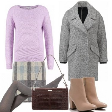 Outfit Lilac sweater