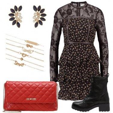 Outfit Adoro il nero