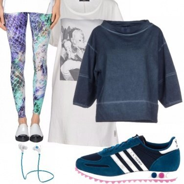 Outfit Relax anche in palestra