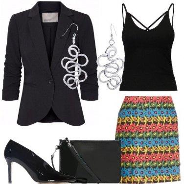 Outfit La gonna colorata