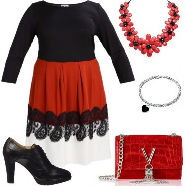 Outfit Fiori e cuori