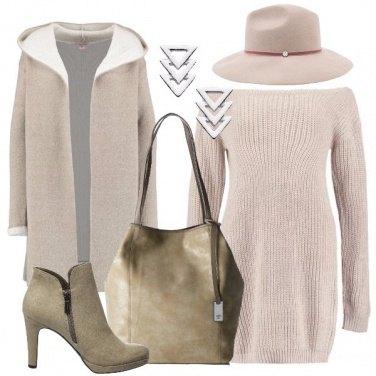 Outfit Un semplice vestito in maglia