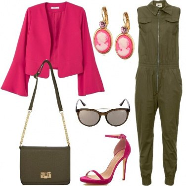 Outfit Cameo rosa