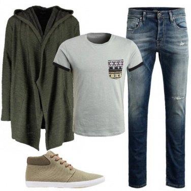 Outfit Una felpa particolare