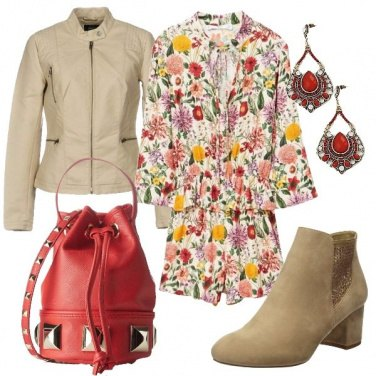 Outfit Donna in fiore