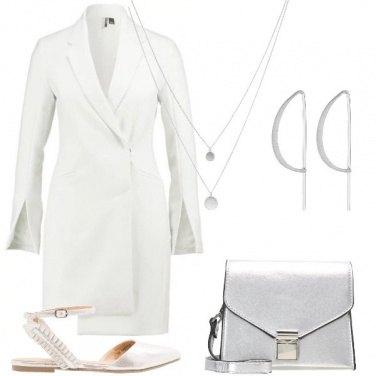 Outfit L\'abito avorio