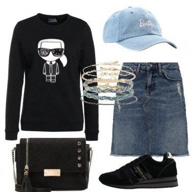 Outfit La felpa iconica