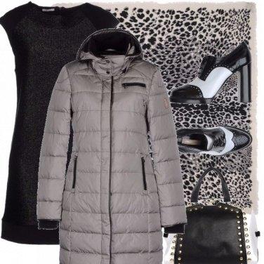 Outfit Bicolore e maculato
