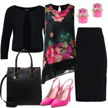Outfit Asimmetrie nel tempo libero
