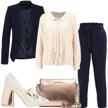 Outfit Tacco rose gold