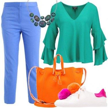 Outfit Colori da teen ager