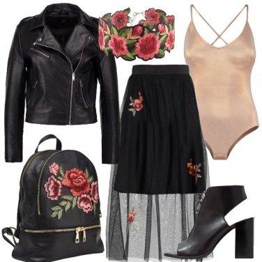 Outfit Un rock romantico