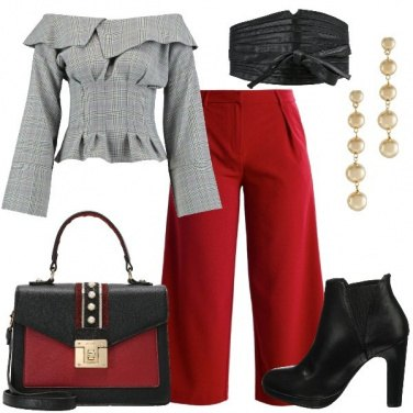 Outfit La cintura alta