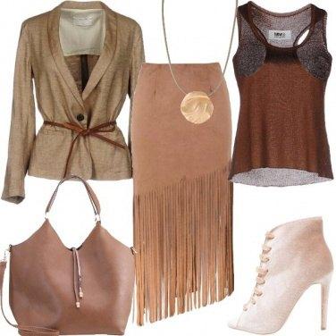 Outfit Protagonista con le frange