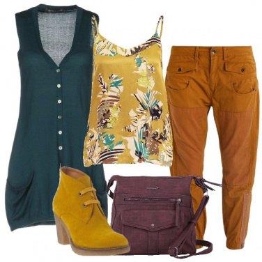 Outfit Come addolcire dei pantaloni army
