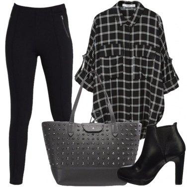 Outfit Il nero mi dona