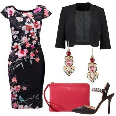 Outfit Fiori al party