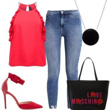 Outfit La borsa di moschino