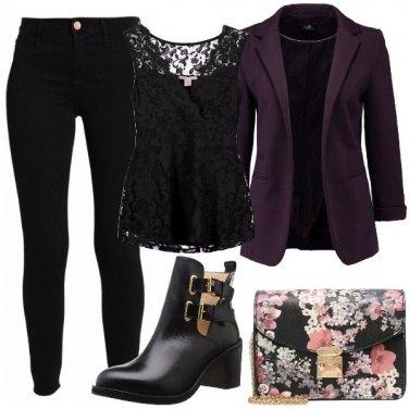 Outfit Tronchetto nero