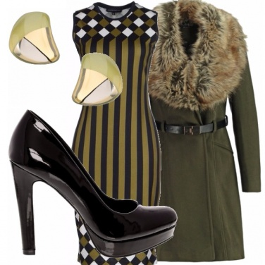 Outfit Verde &nero