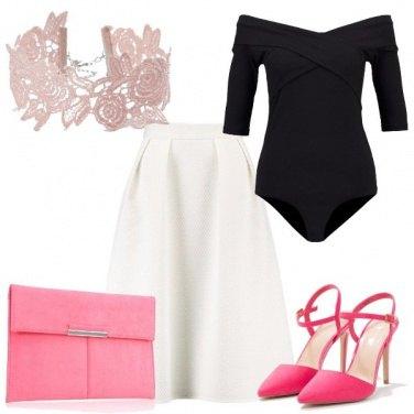 Outfit Particolari rosa