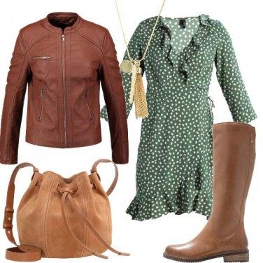 Outfit Abito e stivali