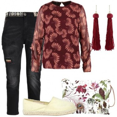 Outfit Amo le fantasie floreali