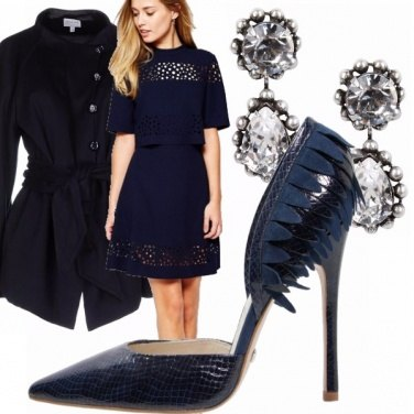 Outfit Blu chic!