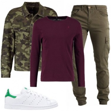 Outfit Sportivo in camouflage