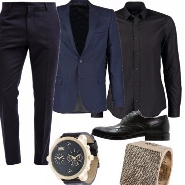 Outfit Blu stile