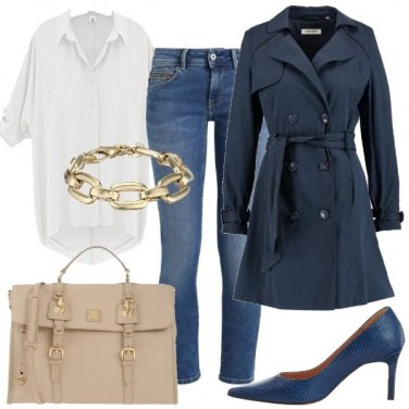 Outfit Chic di giorno con i jeans