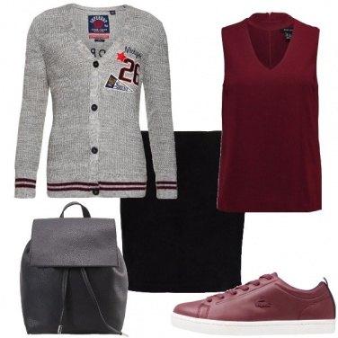 Outfit Pronta per l\'università