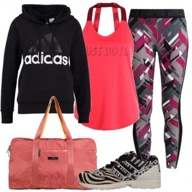 Outfit Estrosa e sportiva