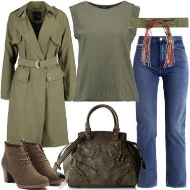Outfit Trench che passione