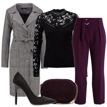 Outfit Un pizzico di viola