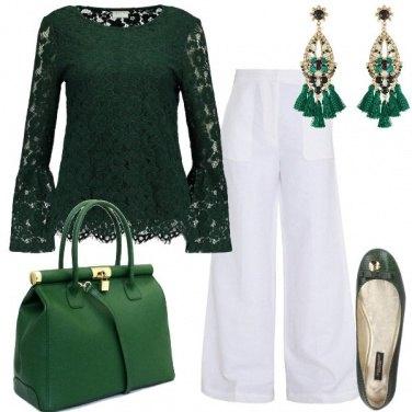 Outfit Verdi pensieri