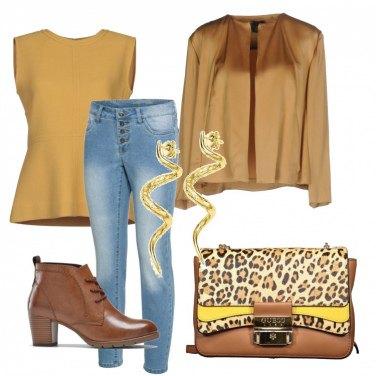 Come abbinare il blusa crêpe giallo: 117 Outfit Donna