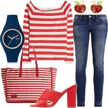 Outfit Righe di giorno