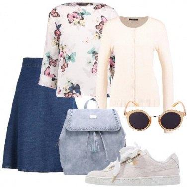 Outfit Studentessa romantica