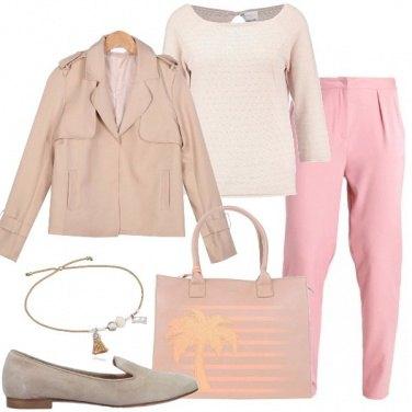 Outfit Delicatamente comoda