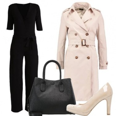 Outfit Semplicemente trench