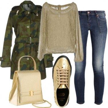 Outfit Oro di giorno