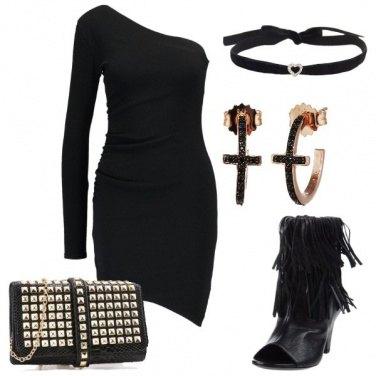 Outfit Sexy monospalla