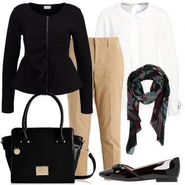 Outfit Bon ton di giorno