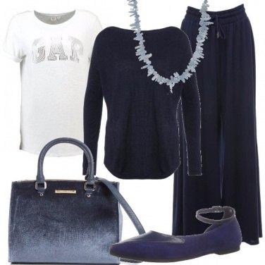 Outfit Comodi pantaloni palazzo