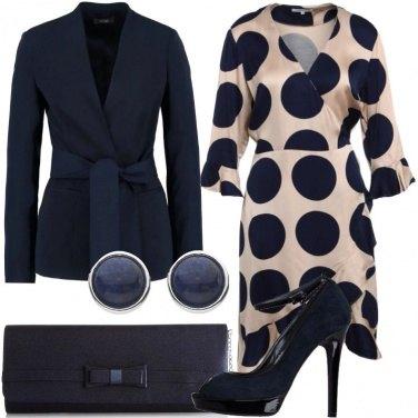 Outfit Bon ton con l\'open toe