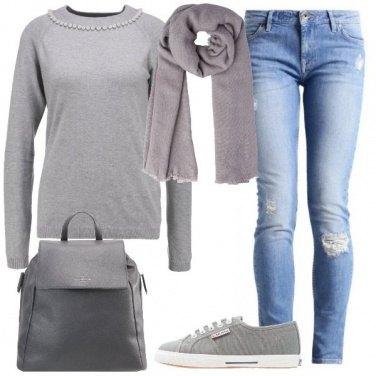 Outfit Dai toni del grigio