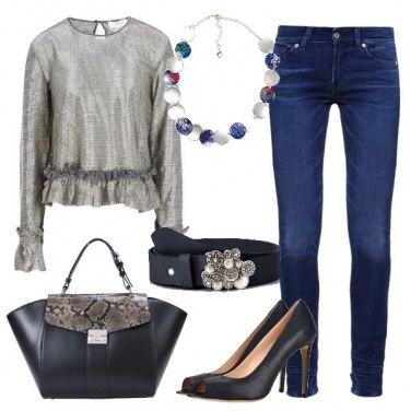 Outfit Glam in ufficio