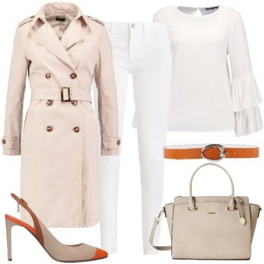 Outfit Intramontabile trench