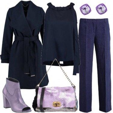 Outfit Abbinamenti con il blu